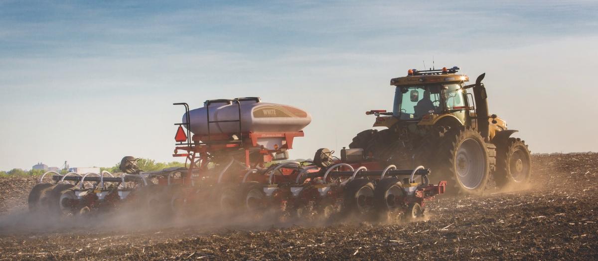 Field Leader Explores Ag Equipment Innovations White Planter