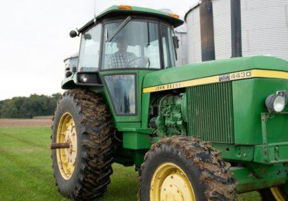 Tractor on local Ohio farm.